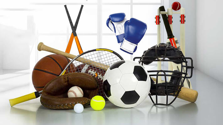equipamentos esportivos